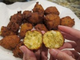 Sweet Corn and Herb Hush-Puppies