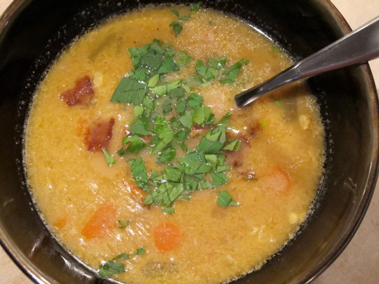 Lighter Corn and Potato Chowder | HaveDessertFirst.com